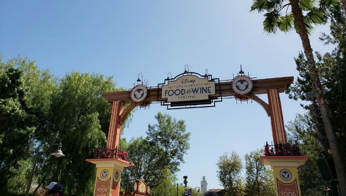 Food Wine Festival Disneyland