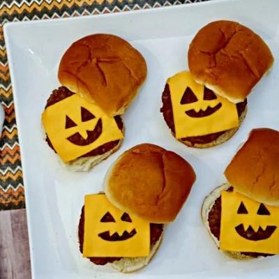 Halloween Burgers