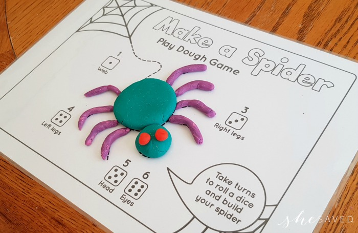 Make A Spider Free Printable