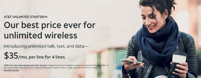 AT&T Unlimited Starter