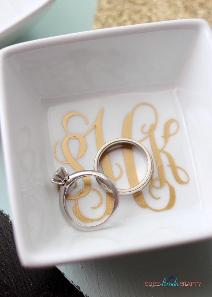 DIY Monogram Gifts