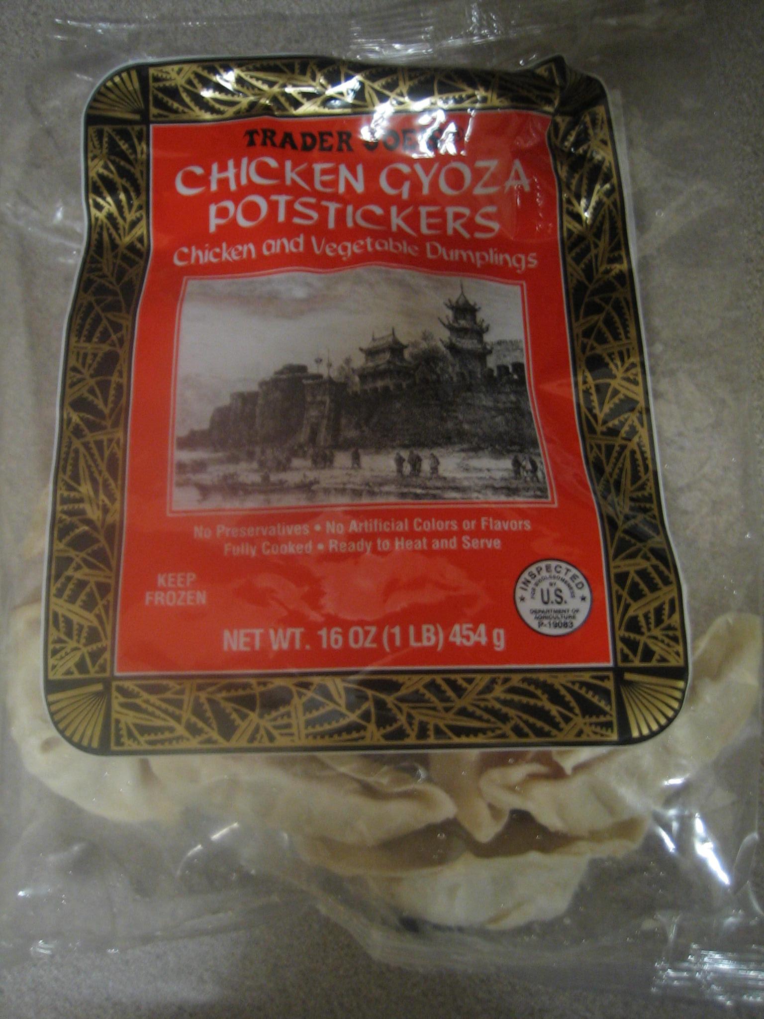 Trader Joe S Chicken Gyoza Pot Stickers SheSpeaks