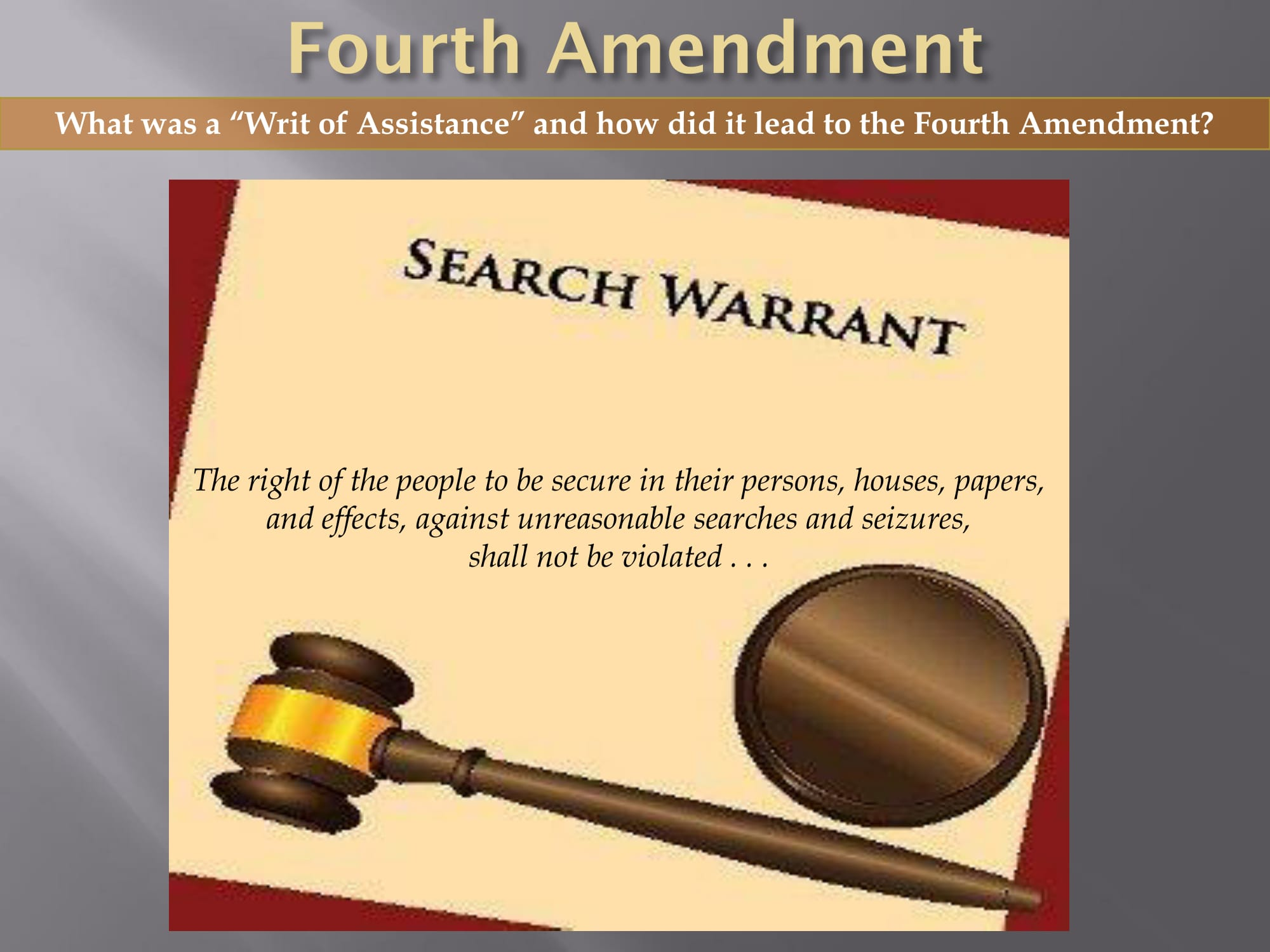 The 225th Anniversary Of The Bill Of Rights Part Ii