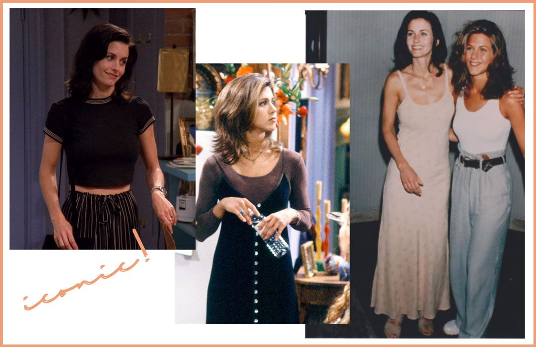 Rachel and Monica Style | Take me back to the 90s | Friends | She talks Glam | Inspiration