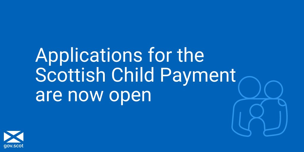 Scottish Child Payment – applications now open