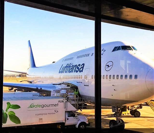 < Lufthansa to Spain! >