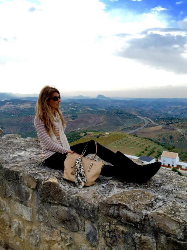 Living in Olvera, Spain while working for Spain's cultural ambassador program.