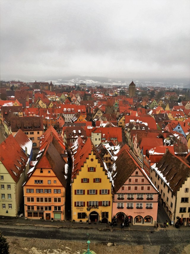 <Rothenburg Red Roofs>