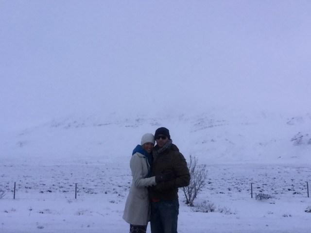 < Iceland Snowstorm >