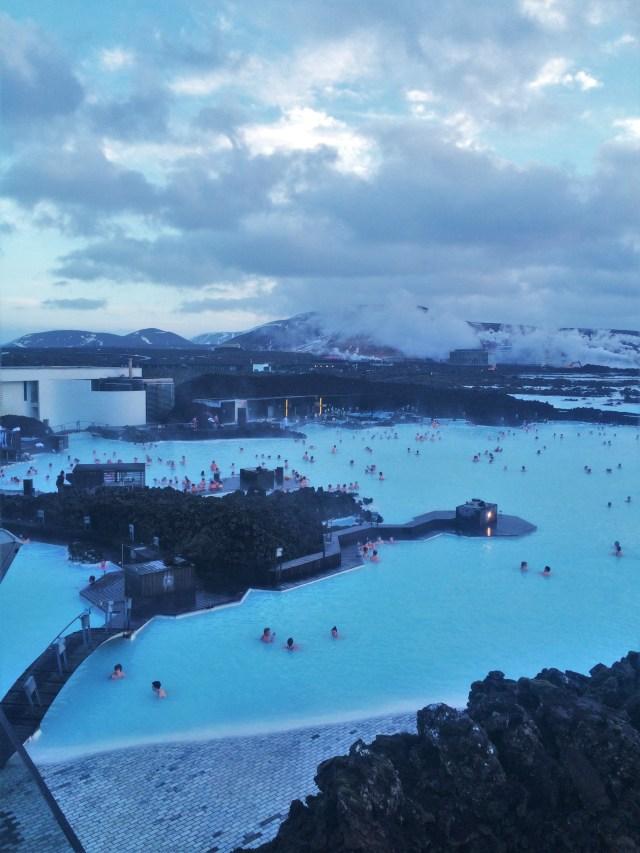 < Blue Lagoon, Iceland >