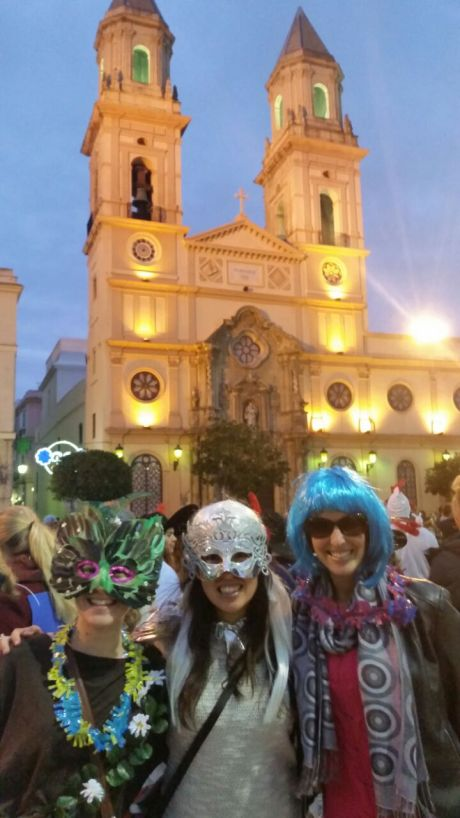 On a whim, James and I drove to Cadiz for Carnaval, the biggest party on Spain's mainland, to meet some friends who were also doing Spain's cultural ambassador program.