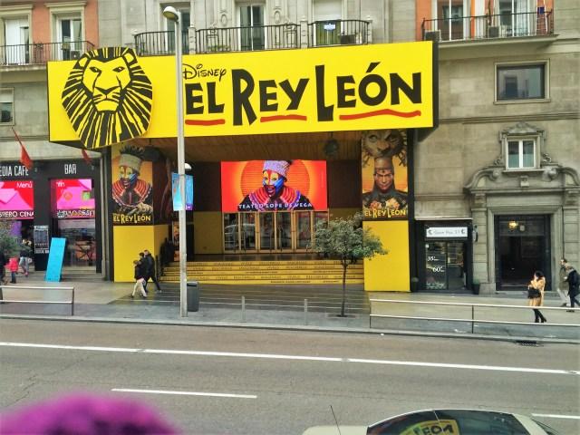< Spanish Lion King >