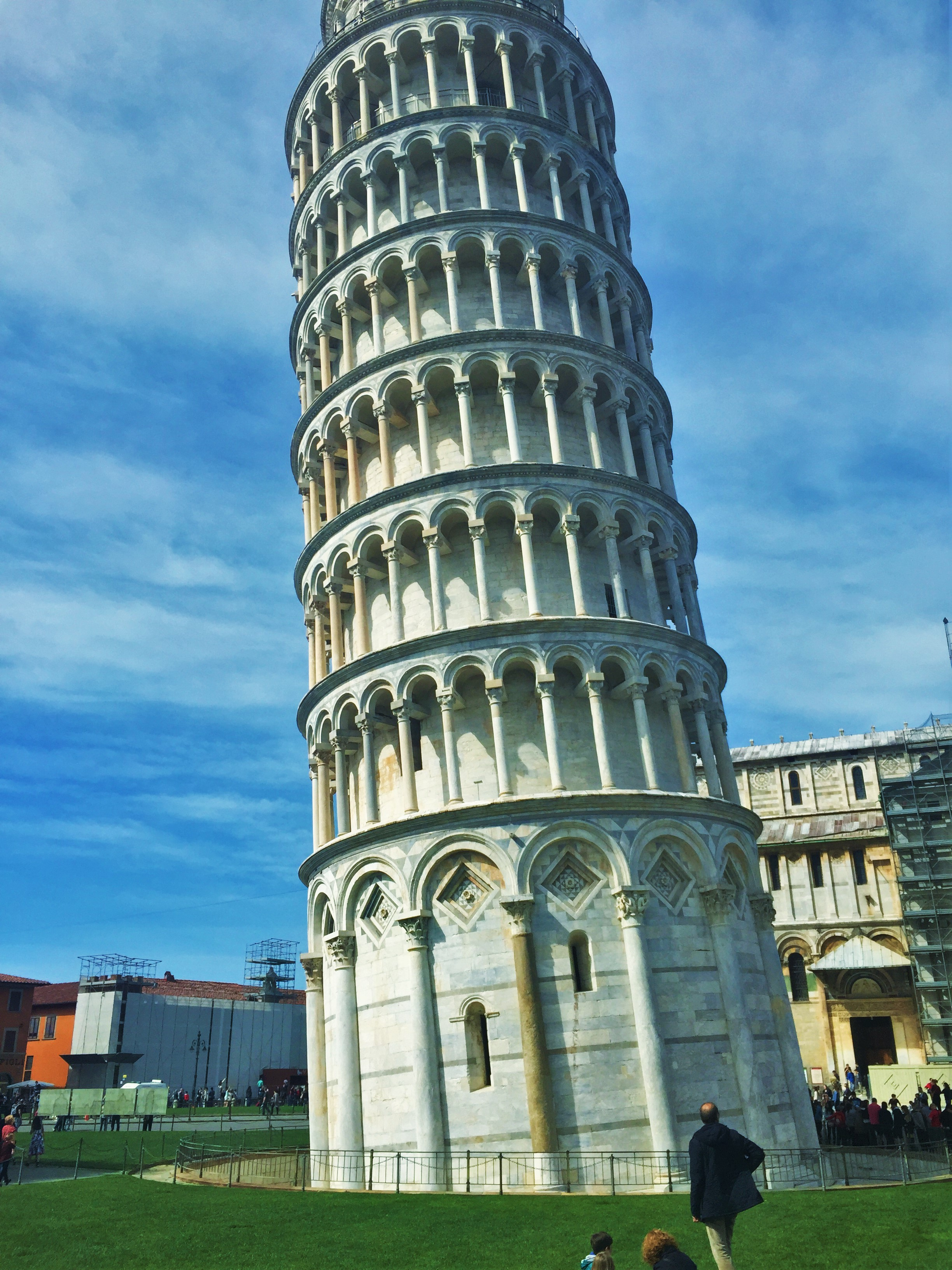 Pisa Italy She Went To Spain