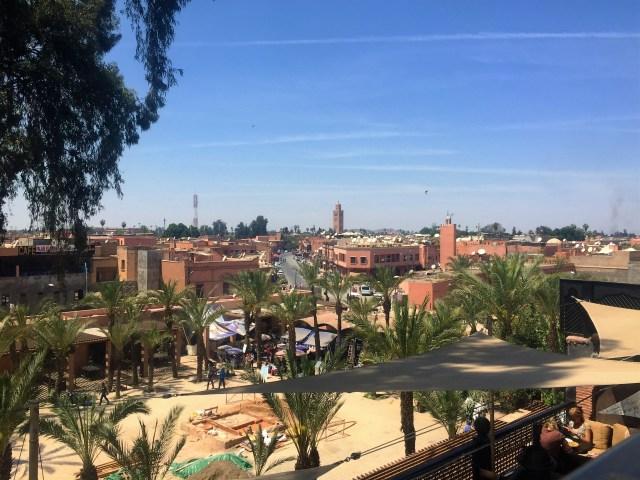 <Marrakech Rooftop View>