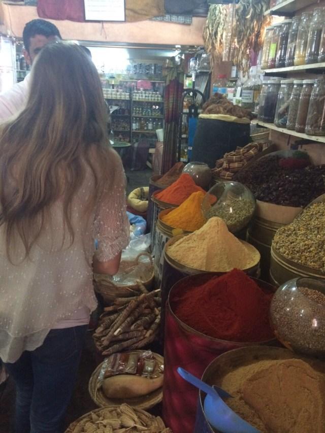 <Marrakech Spice Market>