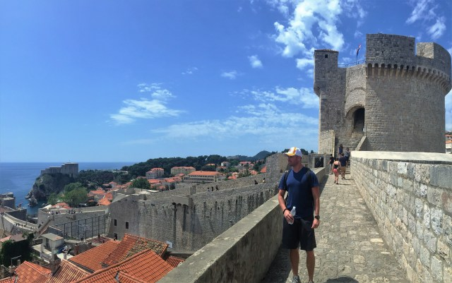 Walking the Dubrovnik walls