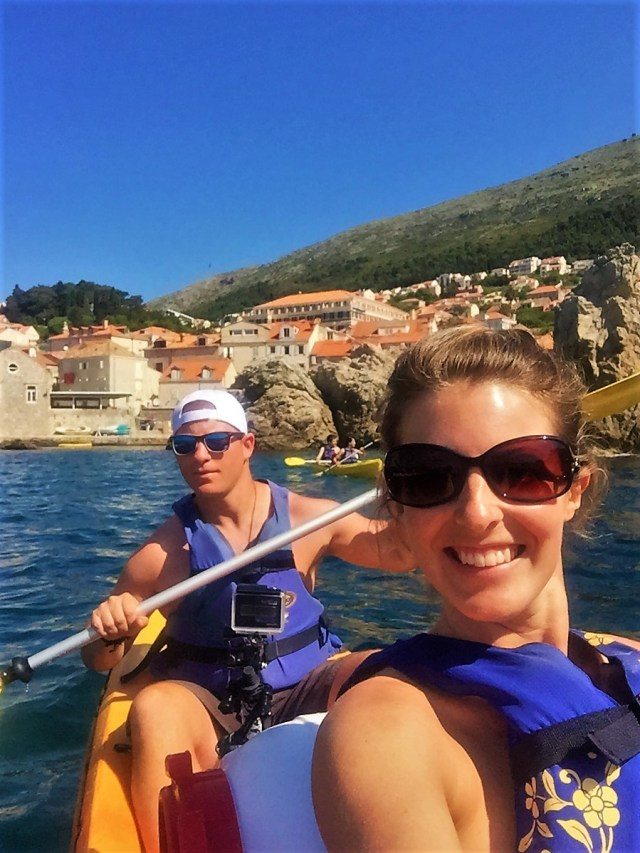 Kayaking in Dubrovnik is a great activity