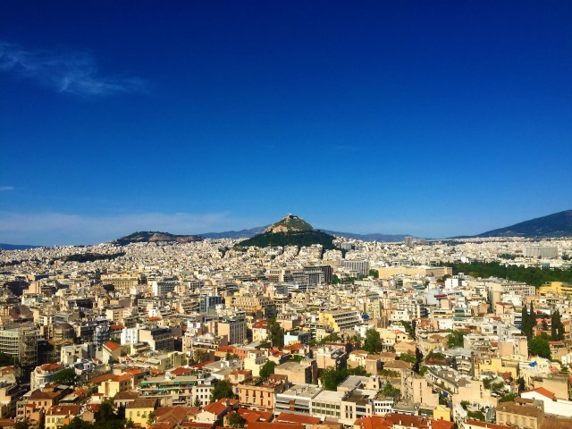 <Athens Lycabettus Hill>