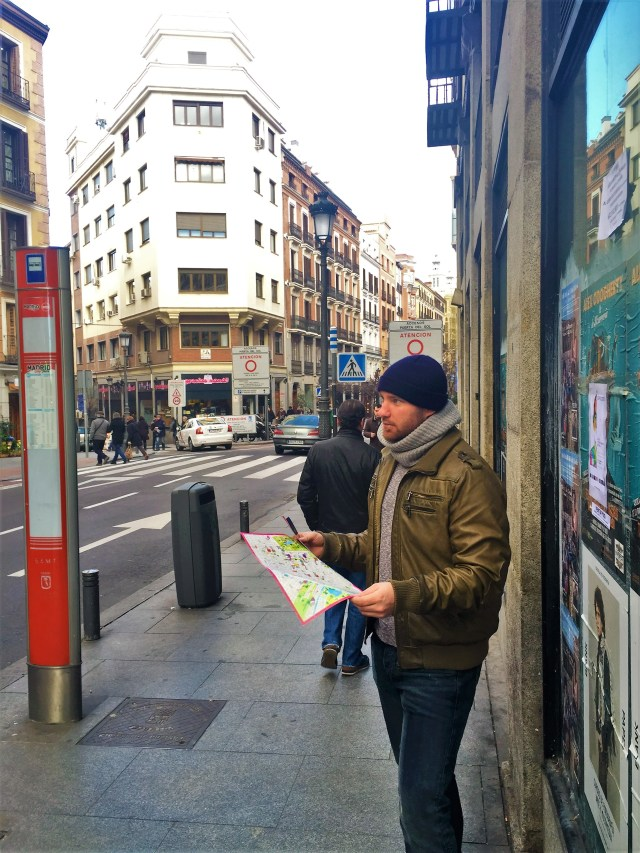< Getting lost in Madrid >