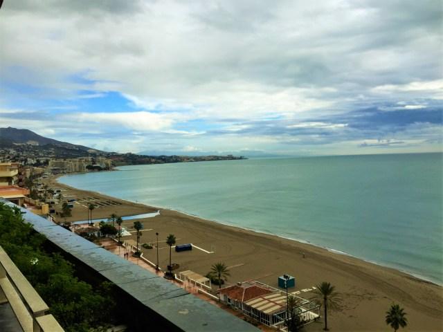 < Fuengirola Beach >