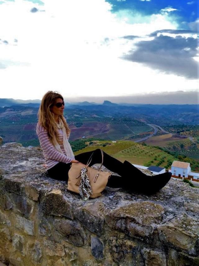 < Life in Olvera, Spain >