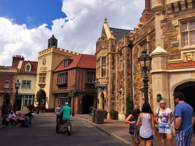 < England in Epcot >