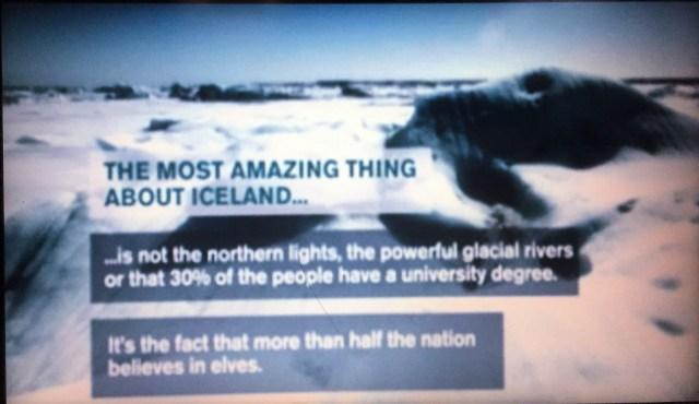 < Half of Iceland believes in elves >
