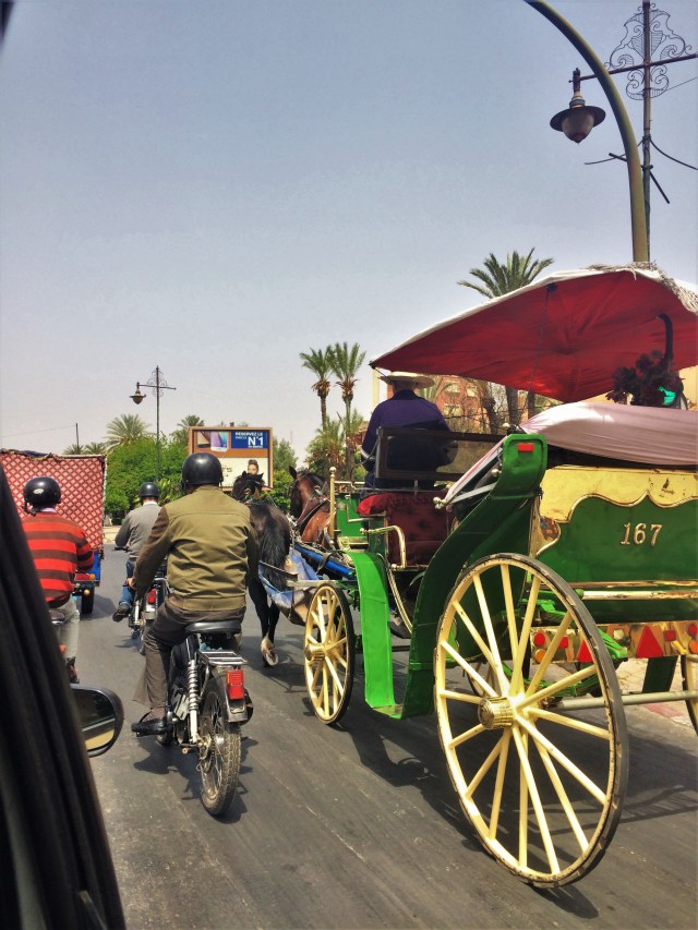 Roads in Marrakech