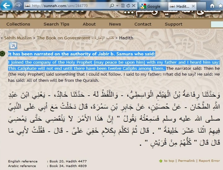 12 Caliphs after Prophet Mohammad pbuh - 3