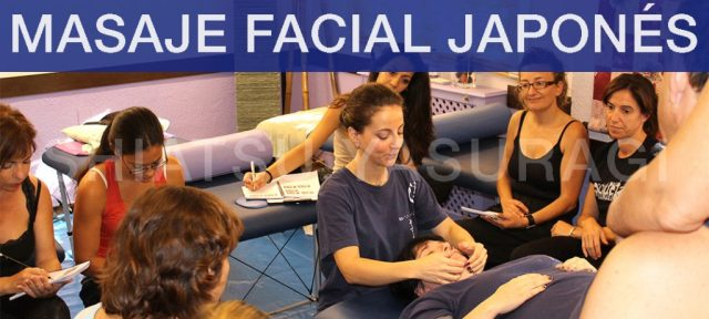 Masaje Facial japonés Curso. Lifting Facial japonés Curso