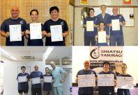 Shiatsu Master Japón, Diplomas del Master