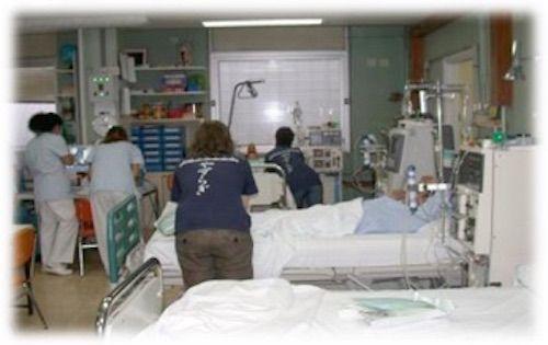Shiatsu Voluntarios Medio Millon de Horas, Hospital de la Paz Unidad de Hemodialisis Pediatrica