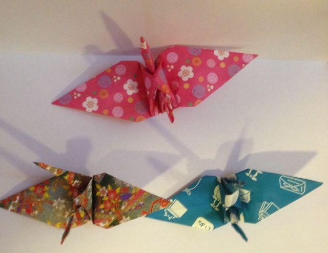 Mil Grullas por la Paz Origami