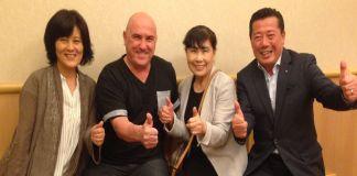 Shiatsu Namikoshi Reunion en Japon.