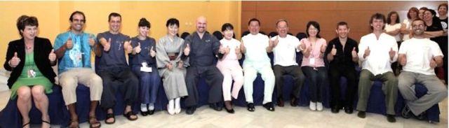Congreso Internacional Shiatsu Grupo de Profesores