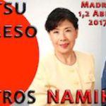 Shiatsu Congreso Internacional. Maestros Namikoshi