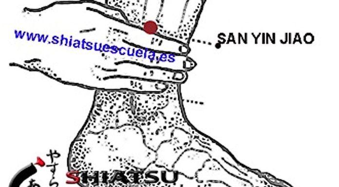 Puntos Superiores, San Yin Jiao 6B