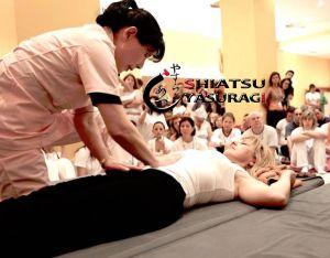Fotos Shiatsu. Mastuko Namikoshi