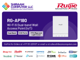 RG-AP180 | Ruijie Networks | Ruijie Switches, Ruijie Wireless, Ruijie Gateways, Ruijie Software, Ruijie Routers, Ruijie Cloud