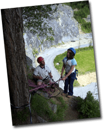 rock climbing and instructor courses