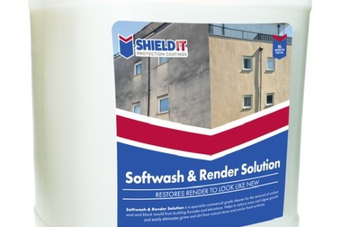 Shield-IT Softwash and Render Solution