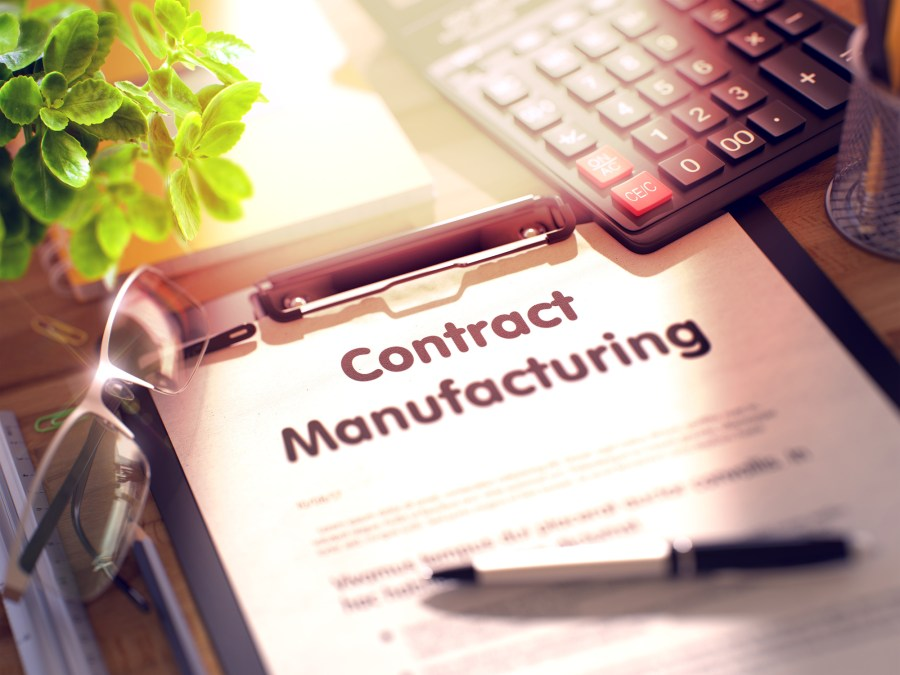 contract manufacturing in China