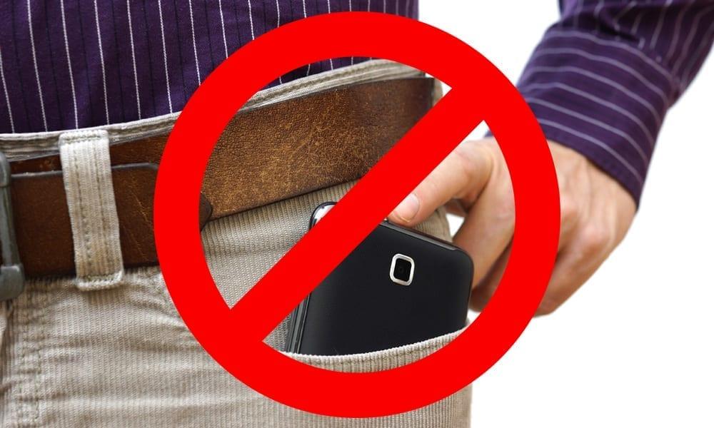 California Cell Phone Warning