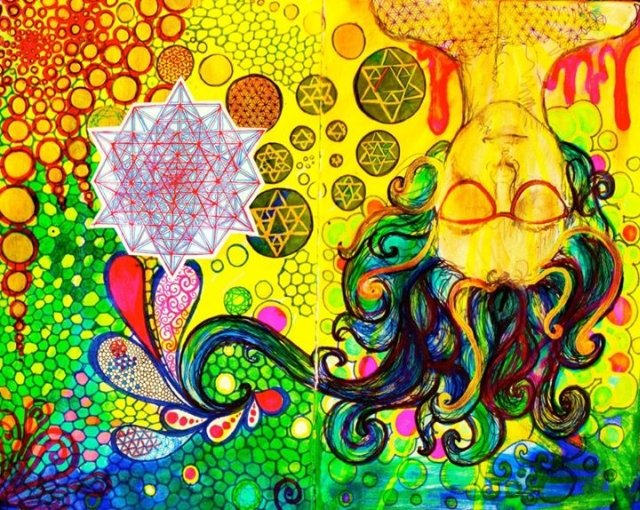 John Lennon by Zoe Stratton
