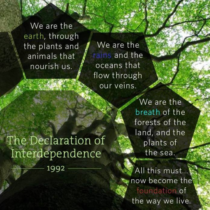 Declaration of Interdependence 1992