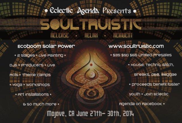 Soultruistic Flyer 2014