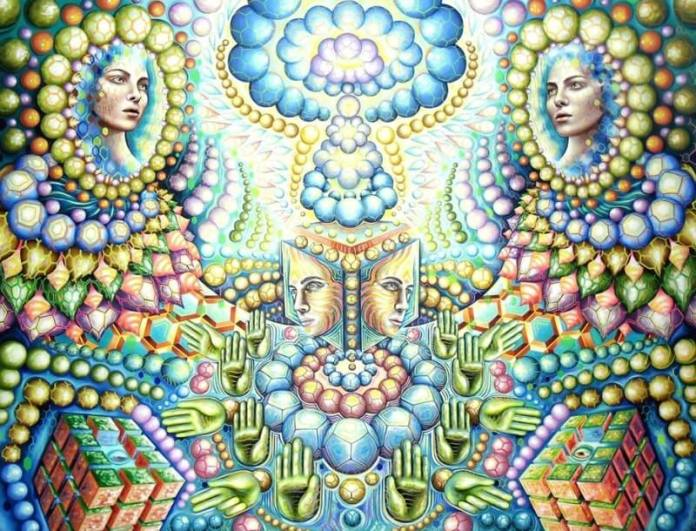 multidimensional visionary art