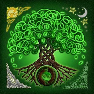 TreeRootsEarthMandala
