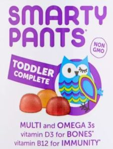 SmartyPants Toddler Complete Vitamins