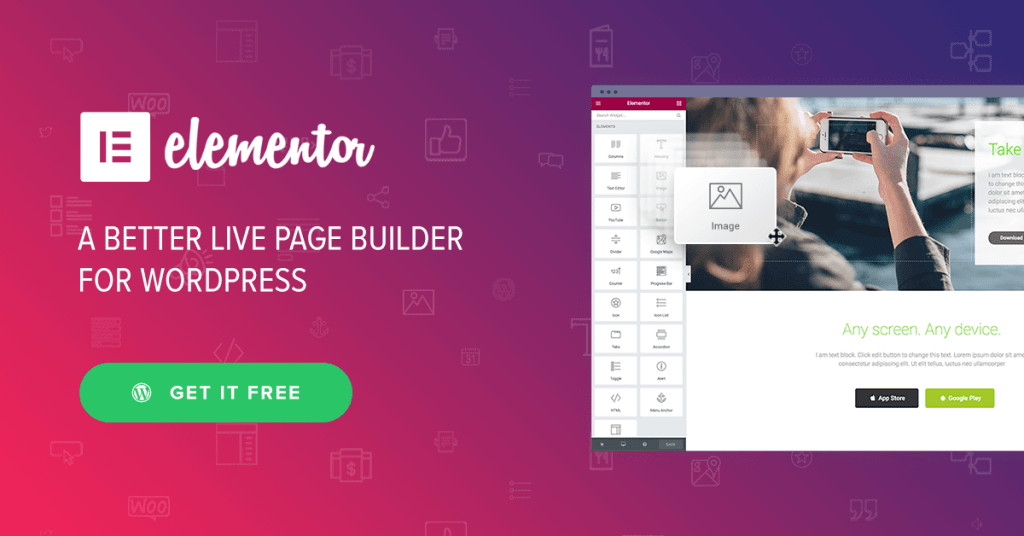 Wordpress Page Builder Drag and Drop